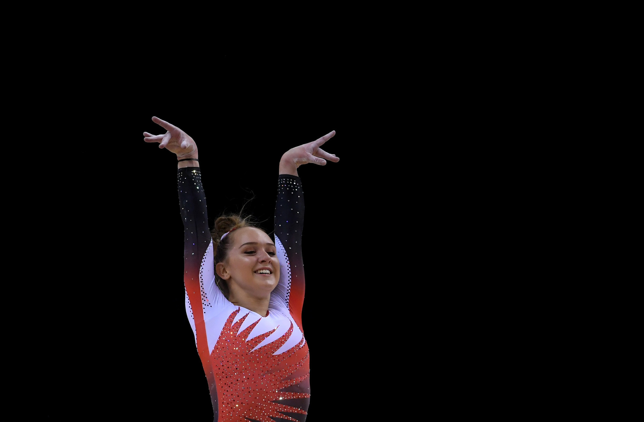 Amy Tinkler has said she retired after making a complaint and not due to injury ©Getty Images