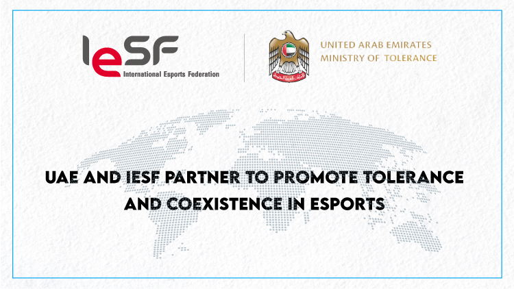 "IESF and UAE partner to promote ""tolerance and coexistence"" in esports"