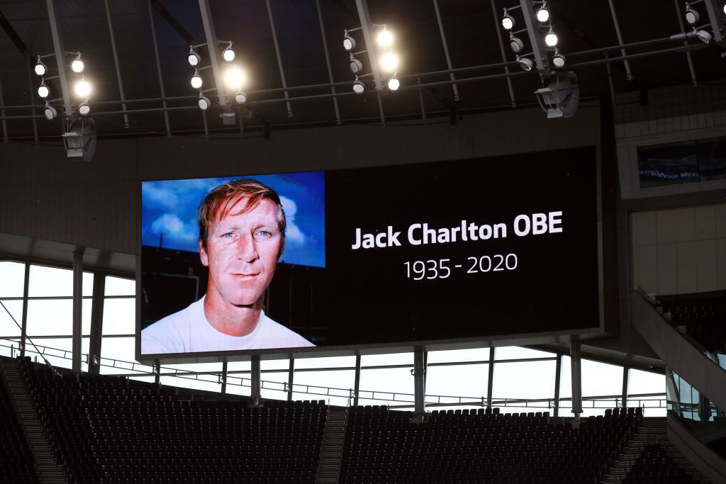 Jack Charlton died last week at the age of 85 ©Getty Images
