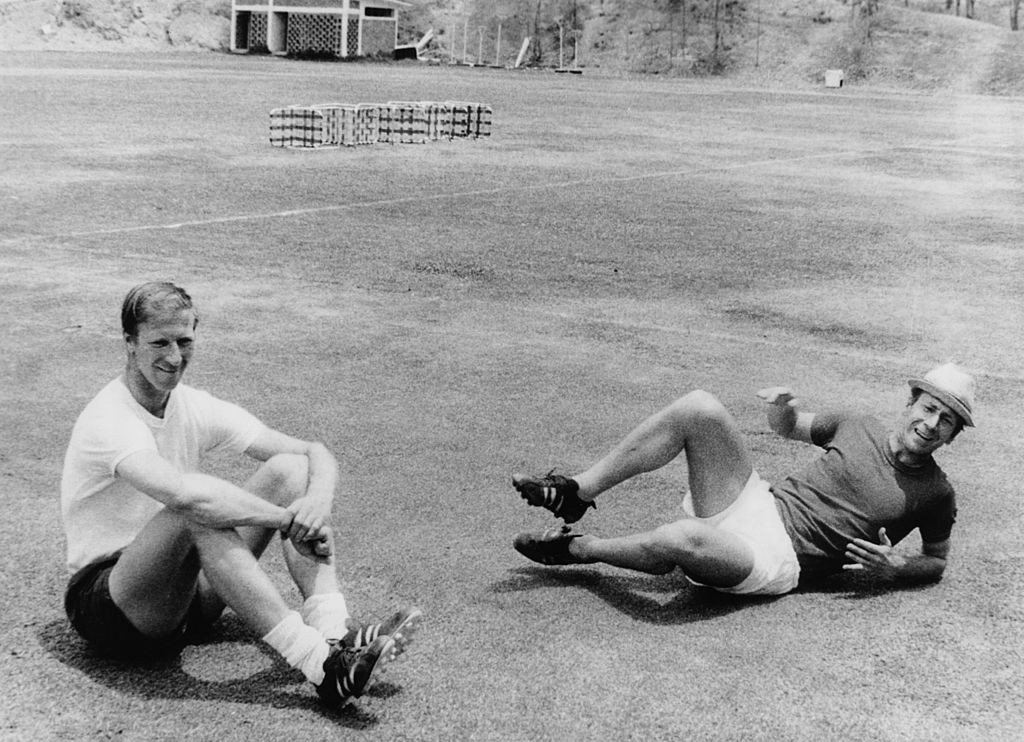 Brothers Jack, left, and Bobby Charlton were never the best of friends ©Getty Images
