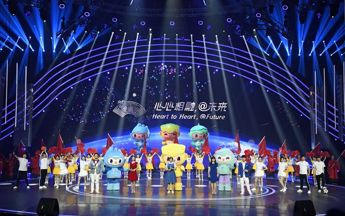 Organisers claim the Hangzhou 2022 mascots have been well received since being unveiled earlier this year ©Hangzhou 2022