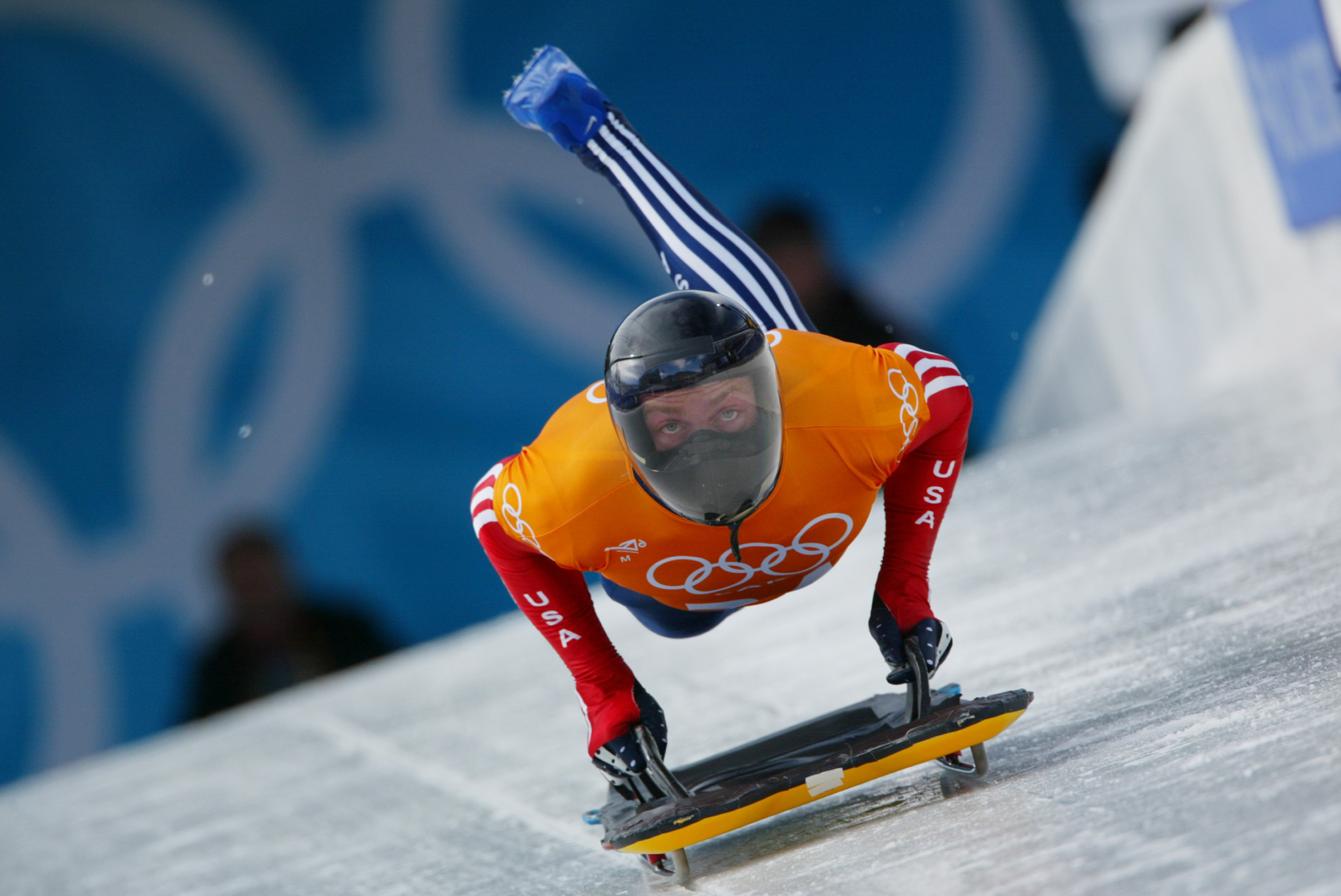 Olympic skeleton gold medallist Jimmy Shea was inducted last year ©Getty Images