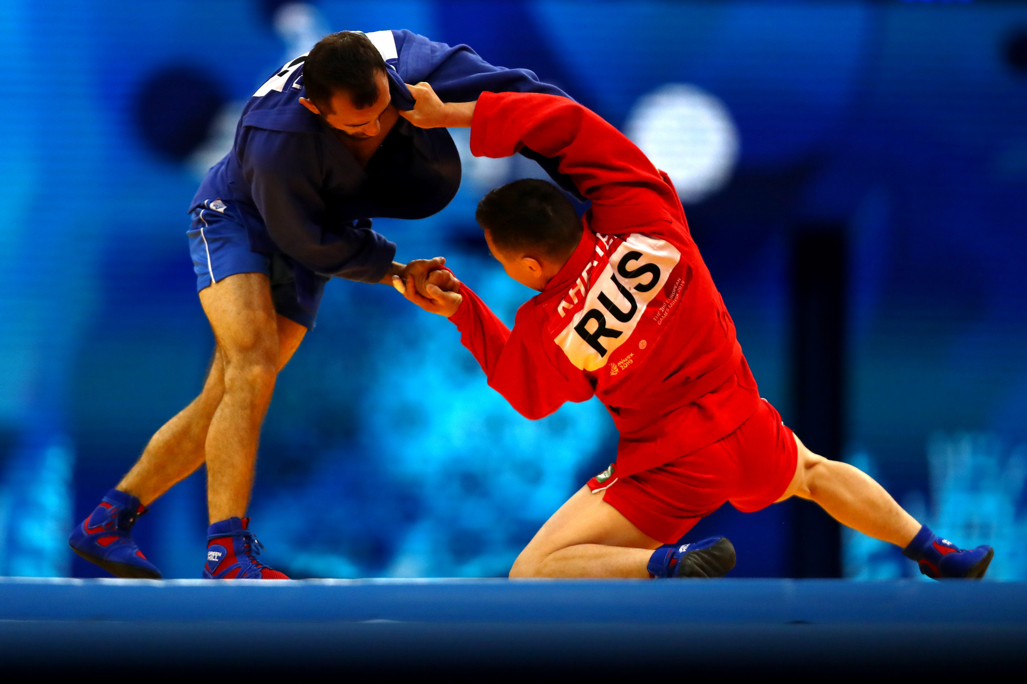 Russia is the dominant global force in sambo ©Getty Images