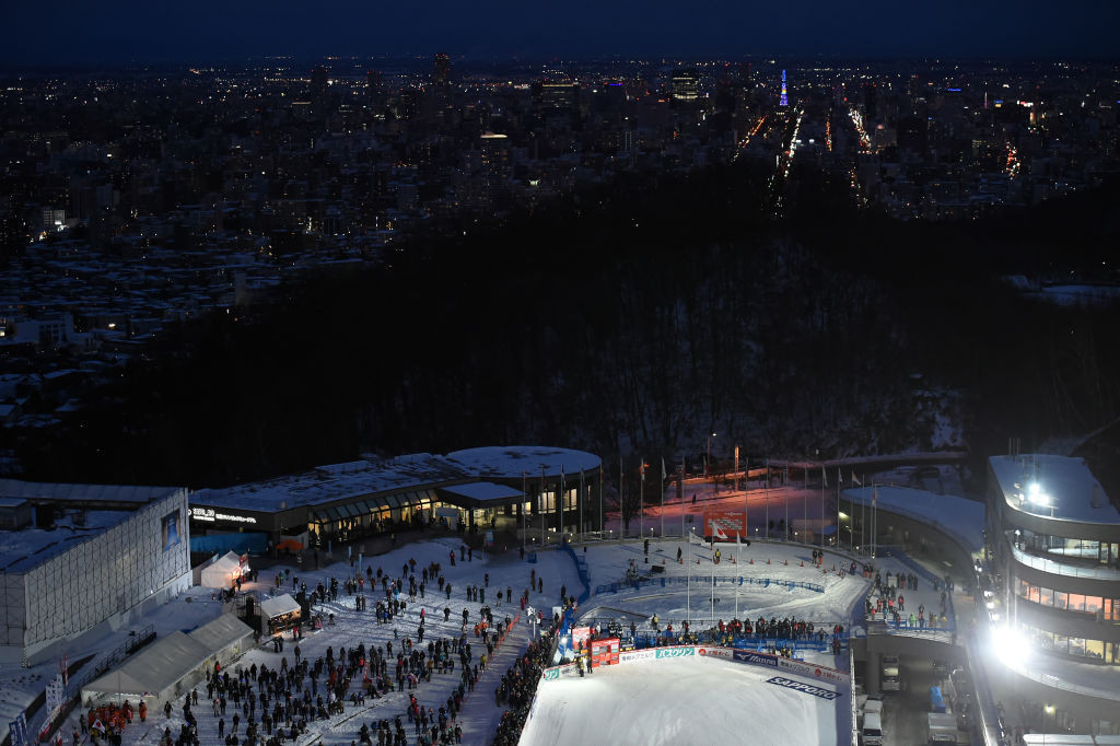 Sapporo's chances of hosting the 2030 Winter Olympics could be boosted if Tokyo 2020 is a success ©Getty Images