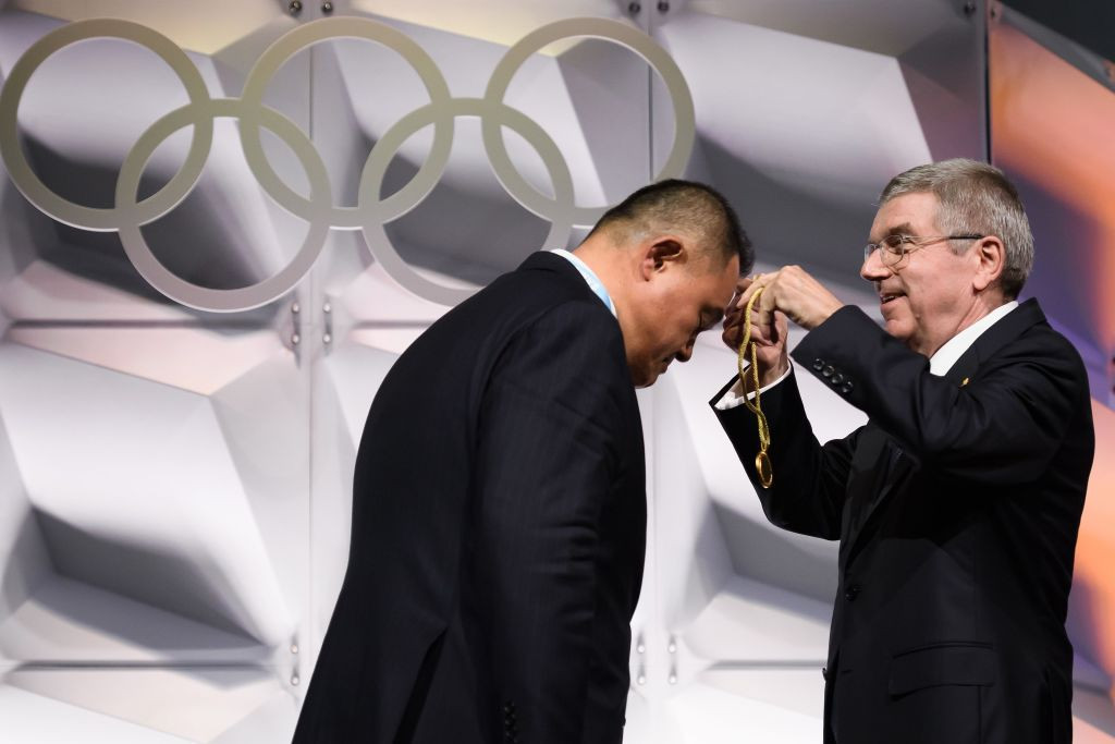 JOC President Yasuhiro Yamashita admitted holding the Tokyo 2020 Olympics next year would be difficult ©Getty Images