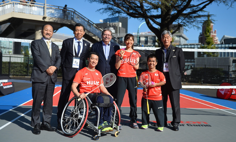 Japan's Para-badminton team have faced challenges on their return to training ©JPBF