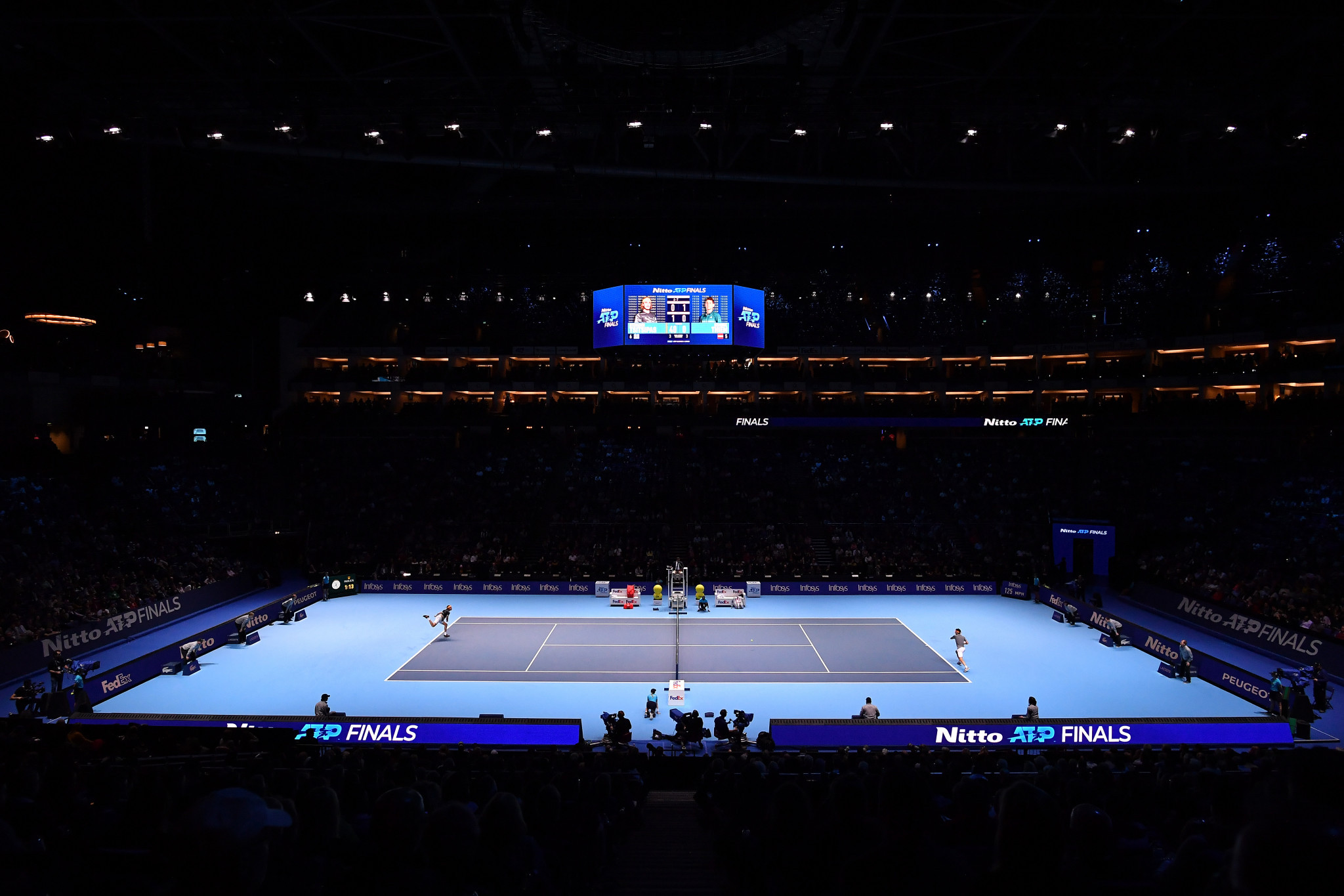 ATP Finals to take place in London with or without fans