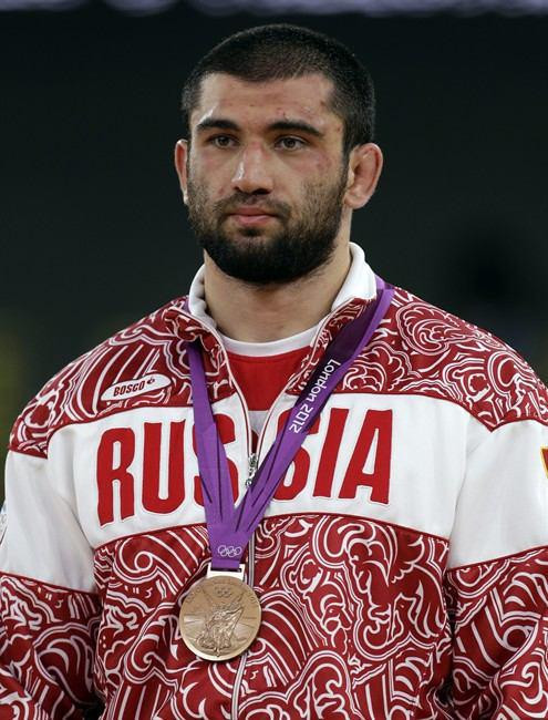 Russia's Bilyal Makhov is set to share the Olympic title with Komeil Ghasemi ©Getty Images