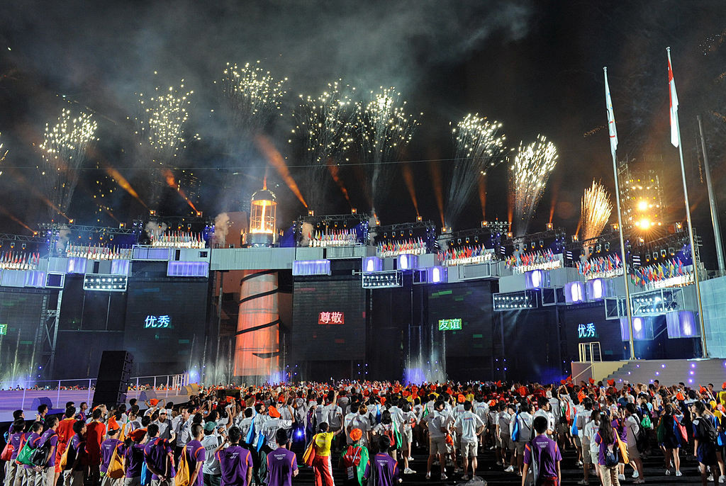 Singapore hosted the first Youth Olympic Games in 2010 ©Getty Images
