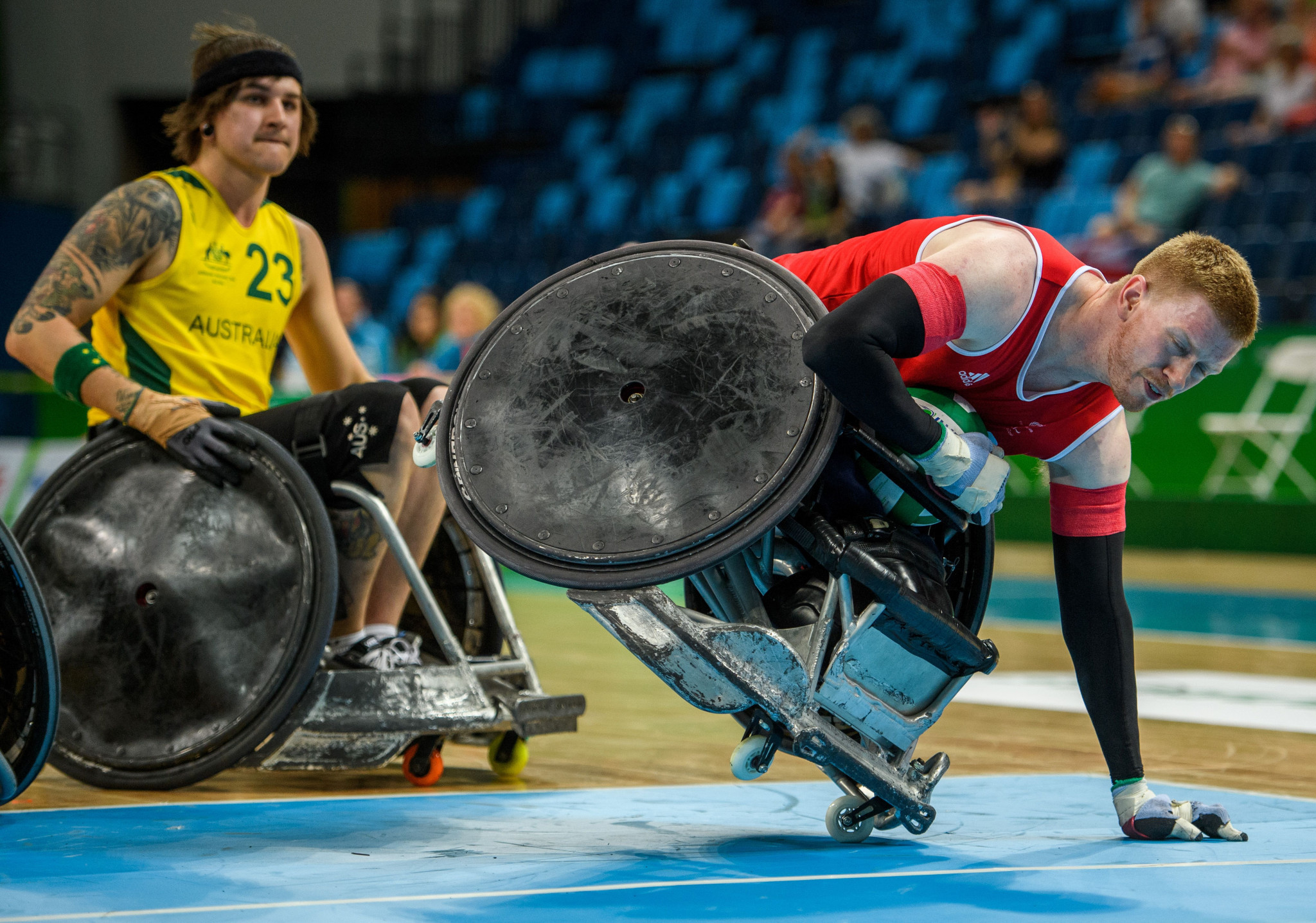 Wheelchair rugby has been working with WADA to ensure international standards ©Getty Images