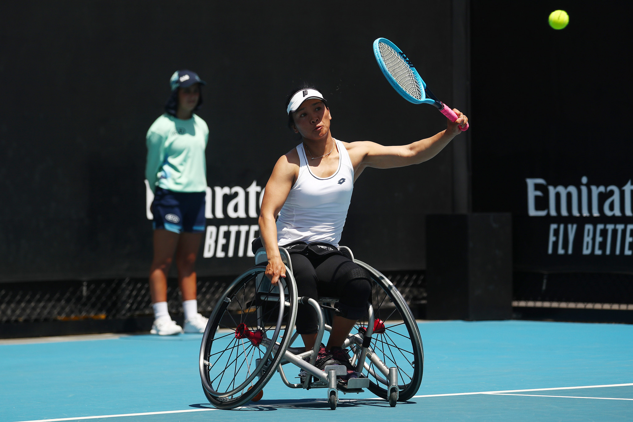 World number six Zhu aims to grow wheelchair tennis in China