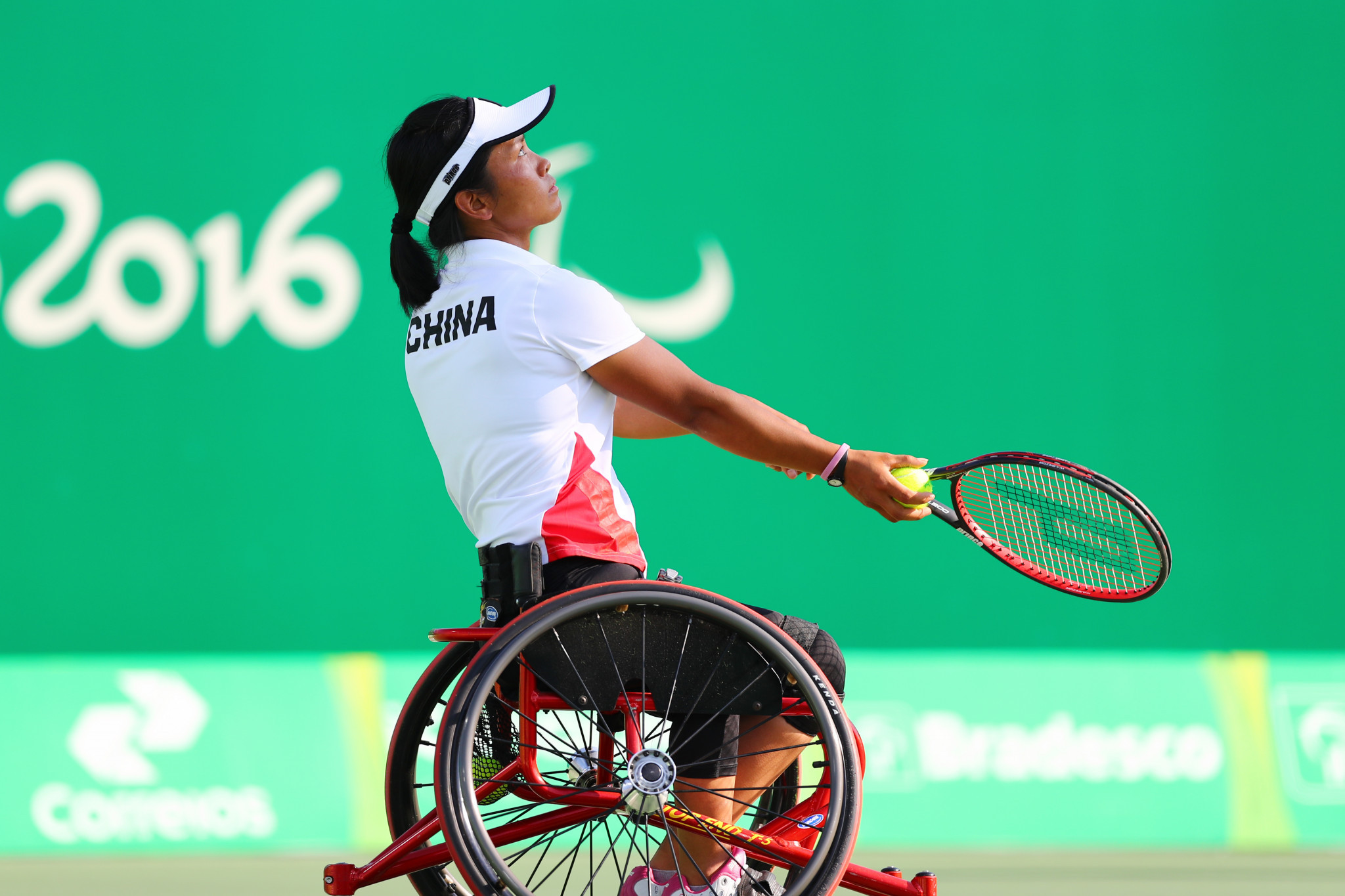 Zhenzhen Zhu appeared at the Rio 2016 Paralympic Games ©Getty Images