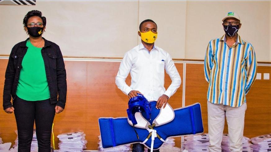 South Korea donates taekwondo equipment to Rwanda