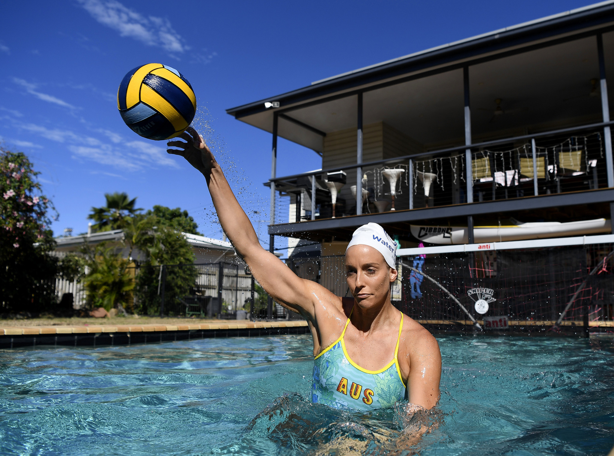 Australian water polo players have been able to return to training after being in lockdown during the coronavirus pandemic ©Getty Images