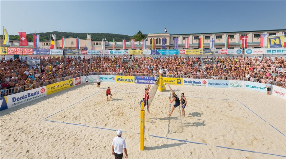 Beach volleyball resumption to include events in Austria and Lithuania