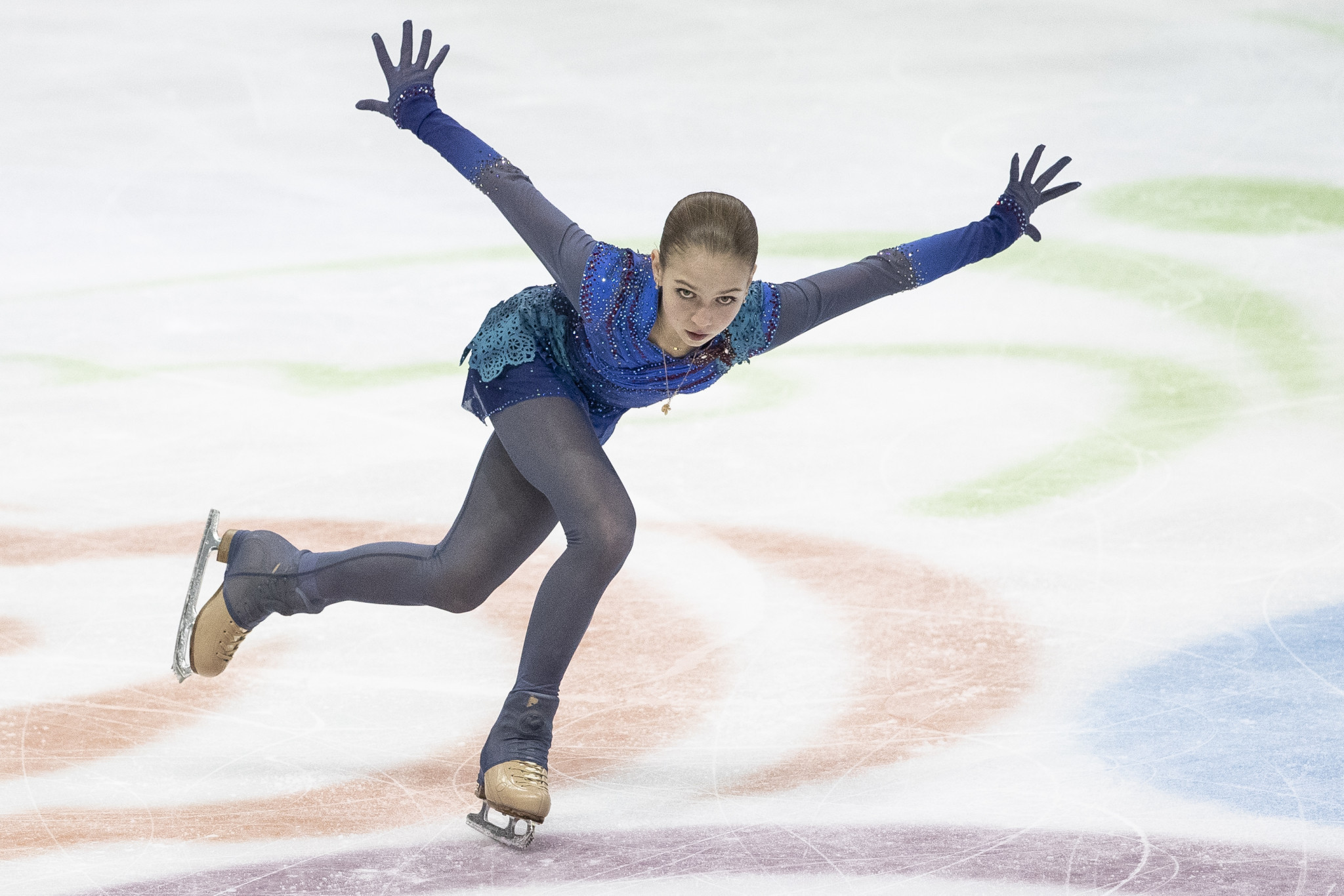 Figure skating star Alexandra Trusova has successfully landed a quadruple Rittberger jump in training, according to her coach ©Getty Images