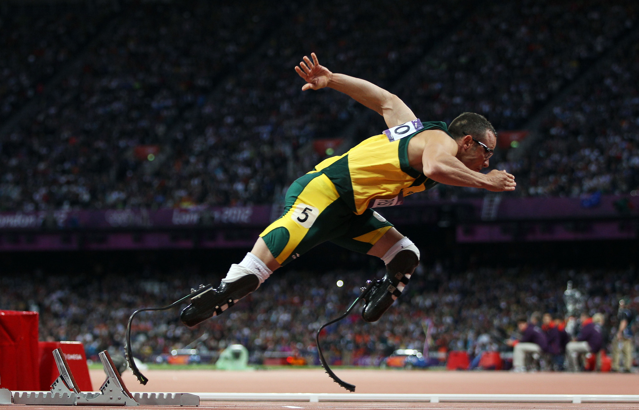 Pistorius appearance on London 2012 highlights sees BBC receive social media criticism