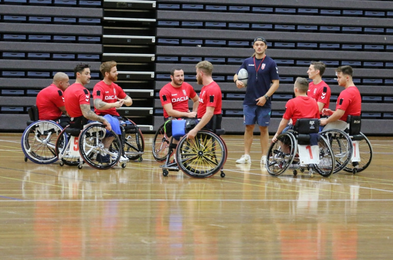 Tom Coyd has been appointed as the new head coach of England's wheelchair rugby league team ©England Wheelchair