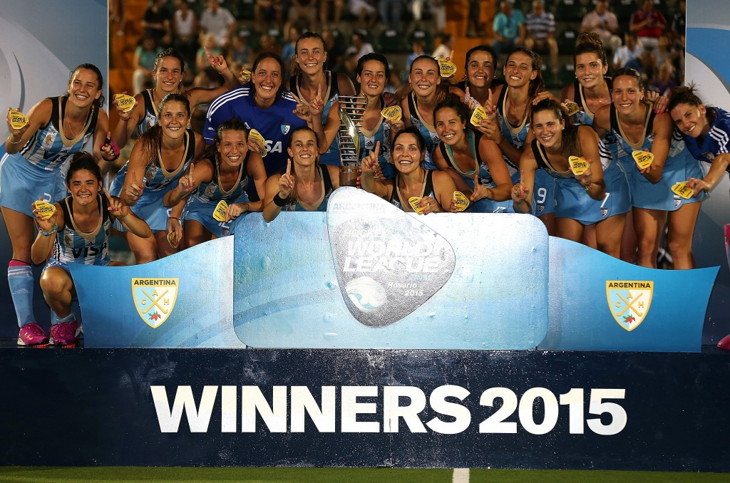 Argentina climb to second in FIH women's world rankings following Hockey World League Final triumph