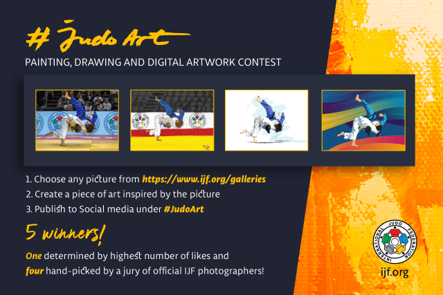 Five competition winners will be selected ©IJF