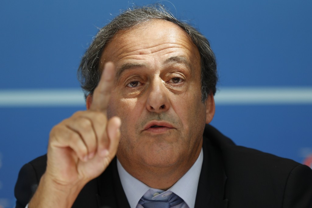 Platini told by FIFA he cannot take appeal against eight-year suspension straight to Court of Arbitration for Sport