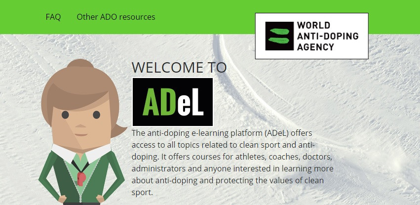 The Alpha course is part of WADA's anti-doping e-learning platform ©WADA