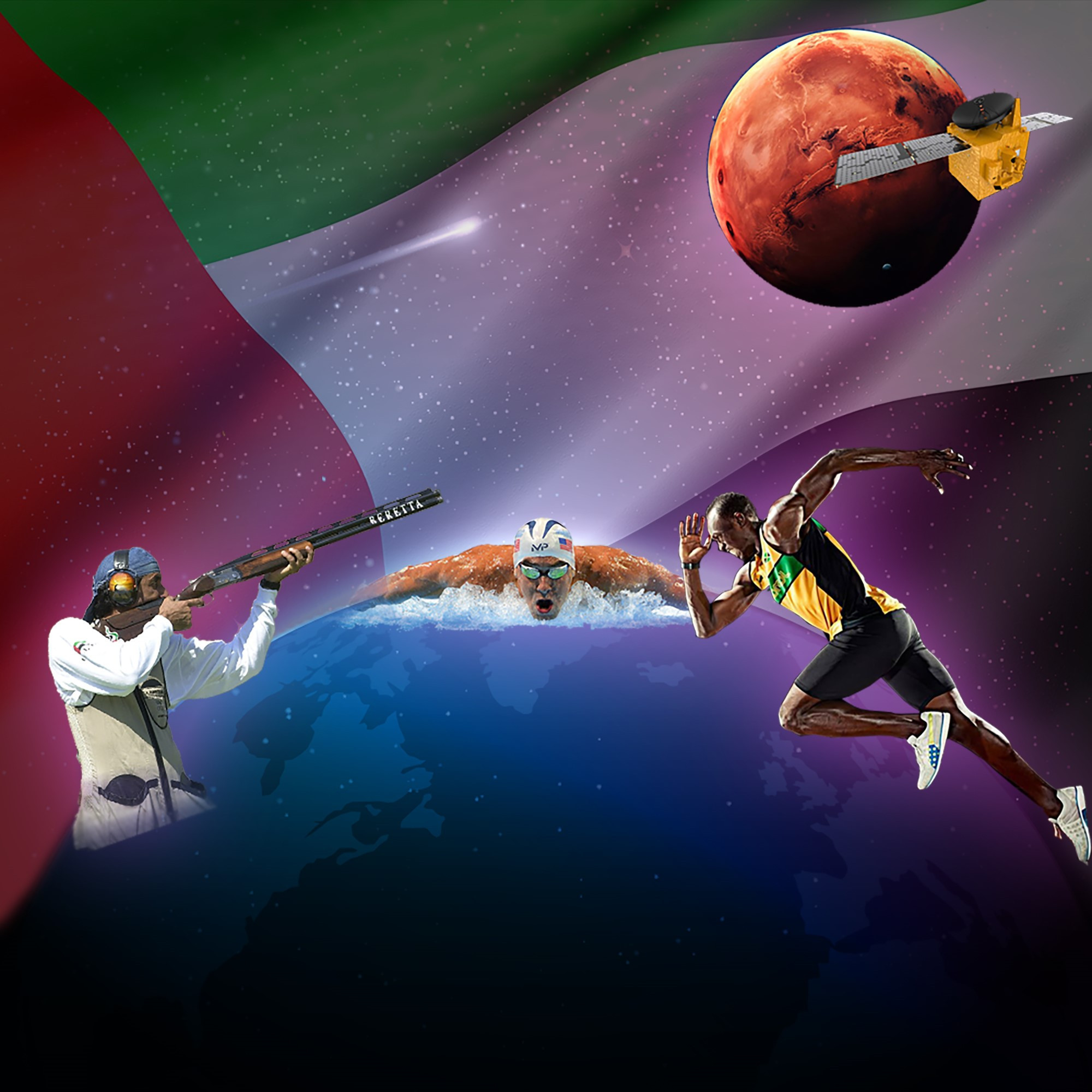 UAE NOC celebrates launch of space mission to Mars