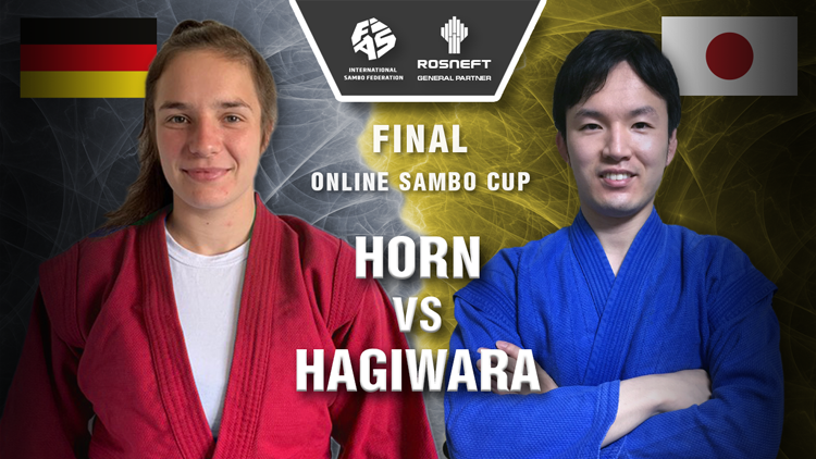 Hagiwara wins super final as Online Sambo Cup concludes