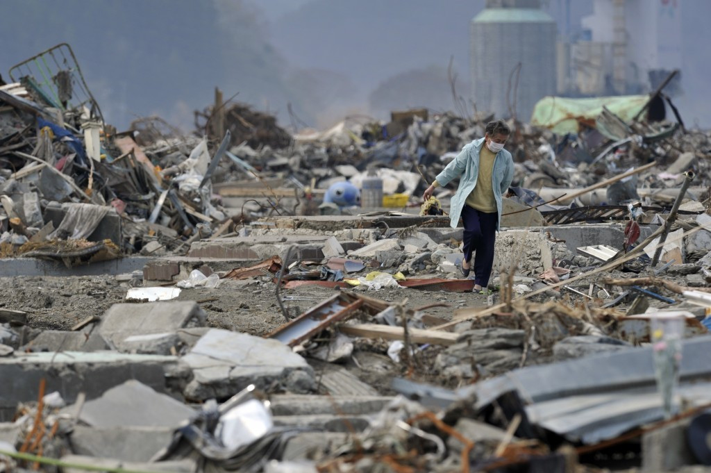 """IJF visit tsunami and earthquake-hit area in Japan in first """"Judo for the World"""" video"""