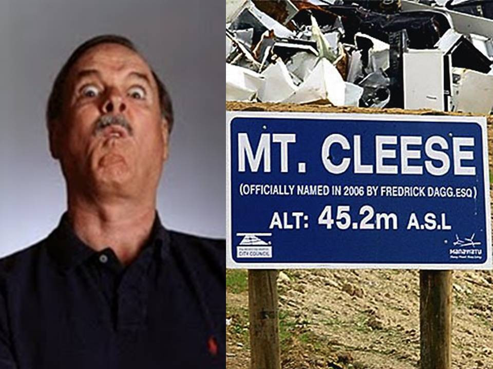 John Cleese got a bad namecheck from Palmerston North in 2005 ©Getty Images
