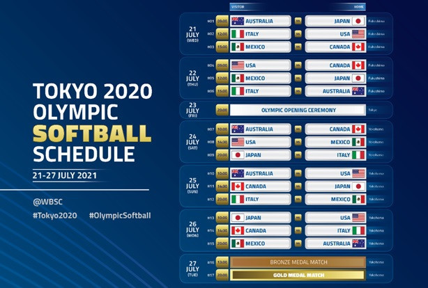 "WBSC ""honoured"" softball will be first sport at Tokyo 2020 Olympics"