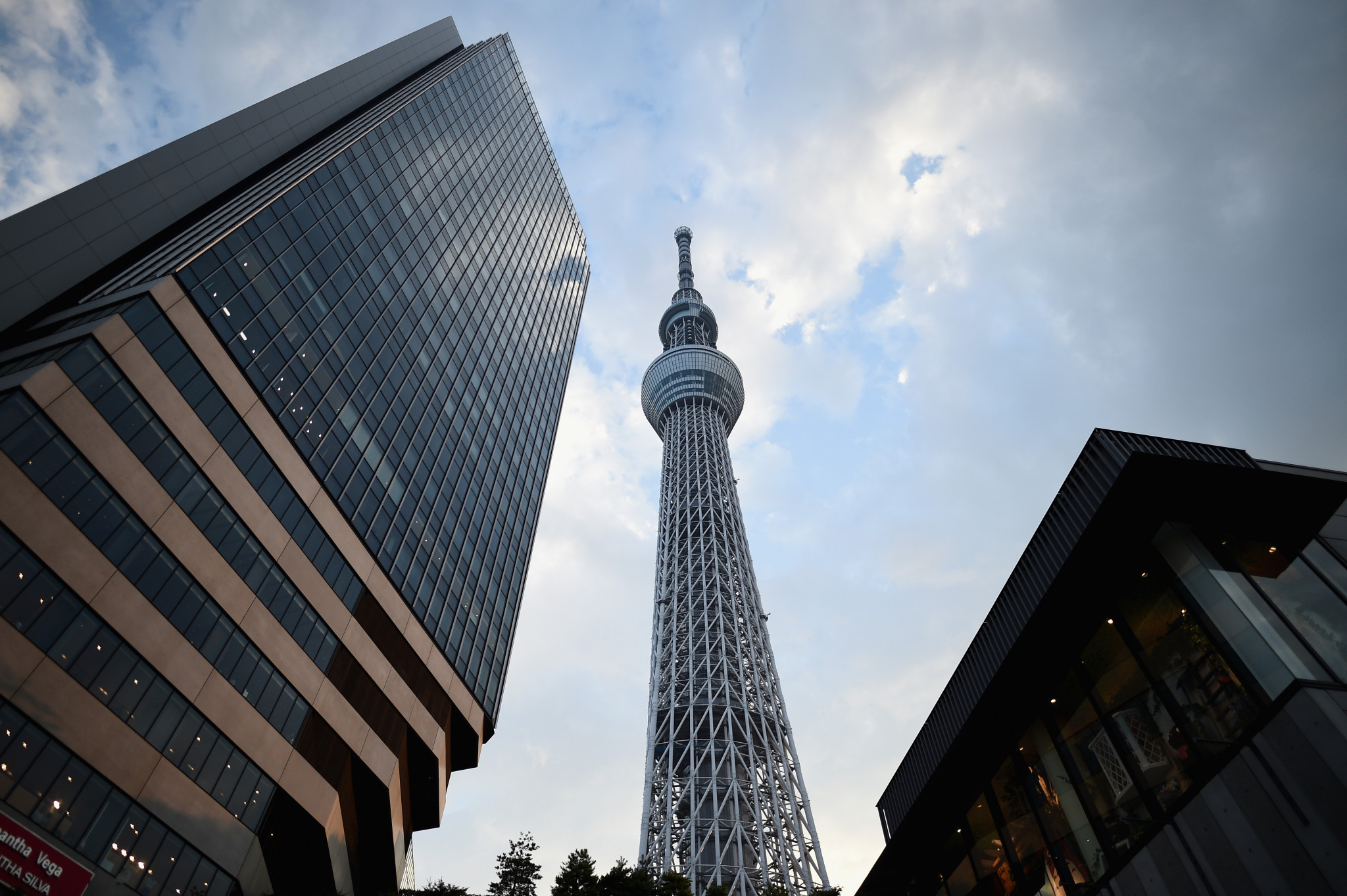 Tokyo 2020 has announced a deal with Tokyo Skytree ©Getty Images