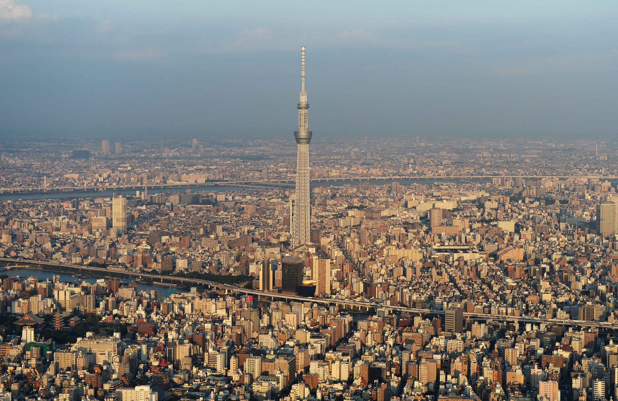 The Tokyo Skytree is a prominent landmark in the Japanese capital ©Getty Images