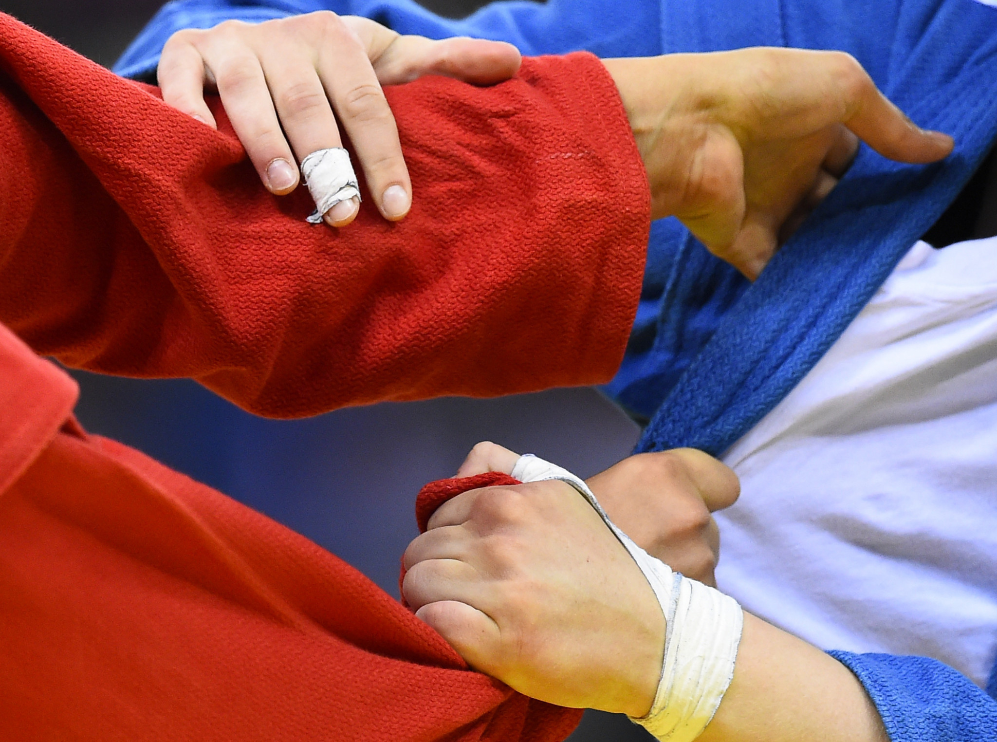 Sambo events have been brought to a halt by the pandemic ©Getty Images