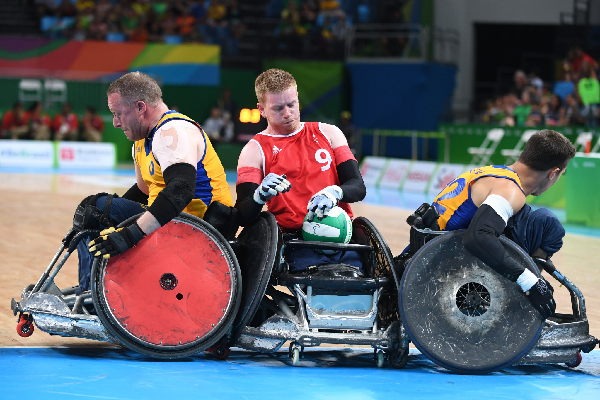 GB Wheelchair Rugby has added four new Board members ©Getty Images