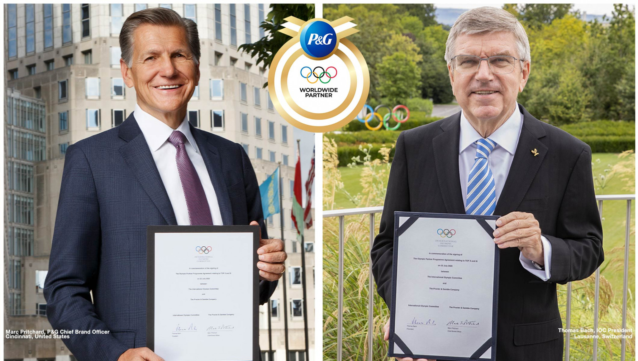 International Olympic Committee extends deal with P&G until 2028