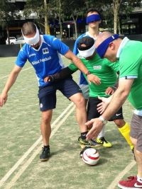 First-ever Oceanian blind football league season concludes in Melbourne