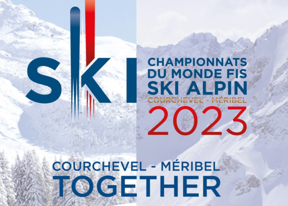 New logo revealed for 2023 Alpine World Ski Championships in Courchevel-Méribel