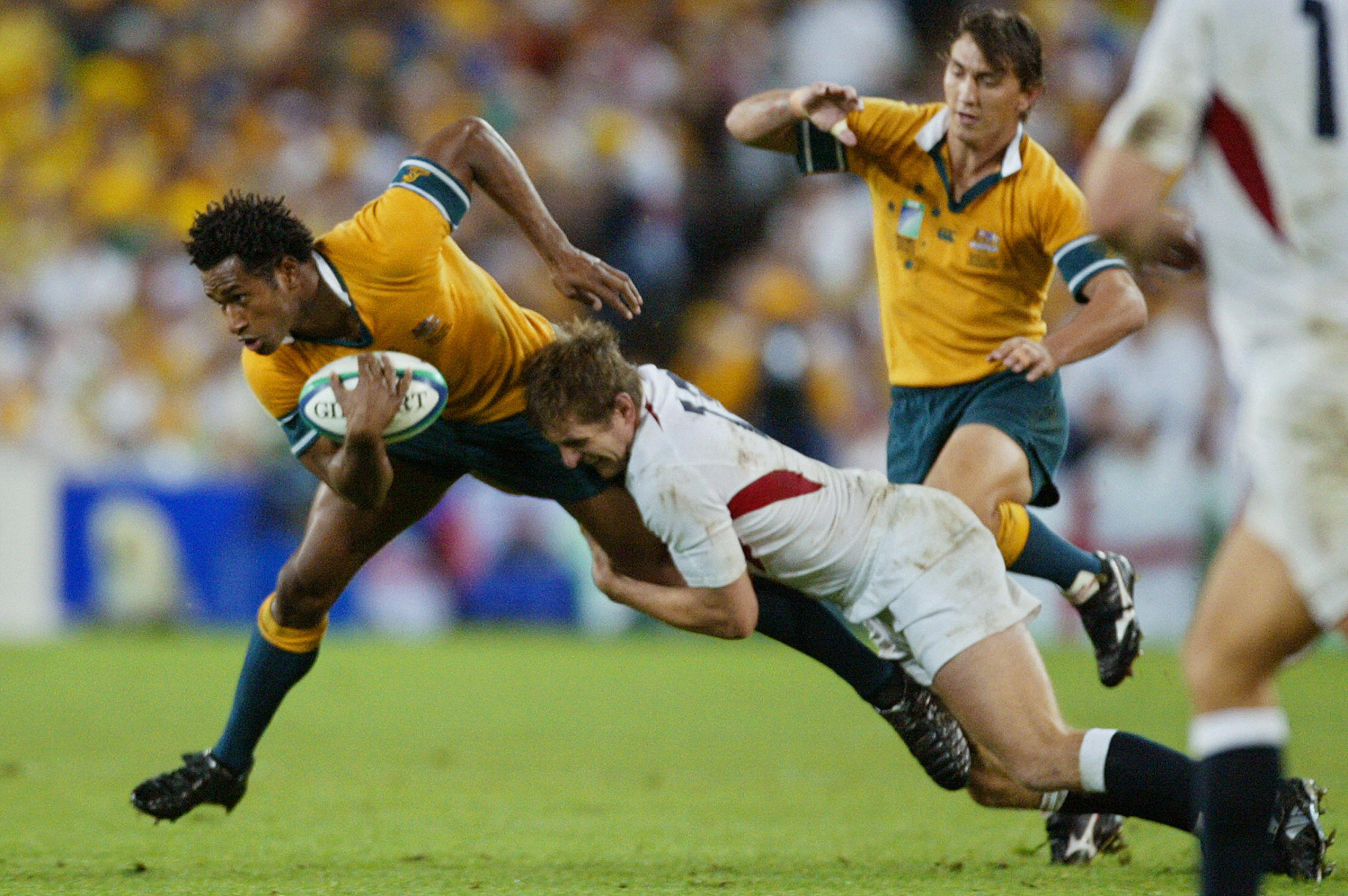 Australia hosted the 2003 Rugby World Cup ©Getty Images