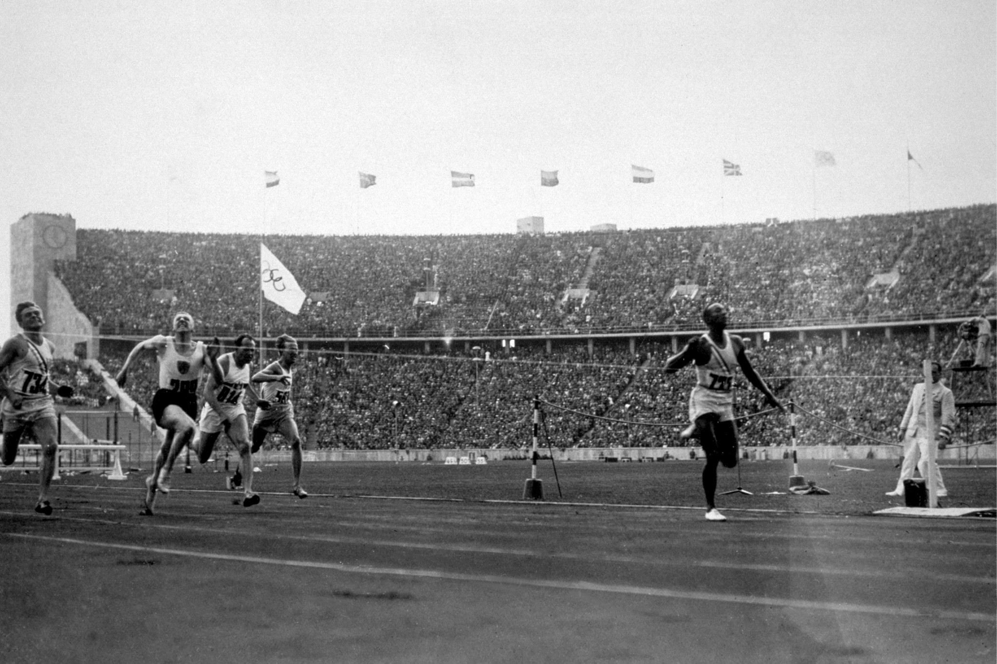The IOC's response highlighted Jesse Owens' success at Berlin 1936 ©Getty Images