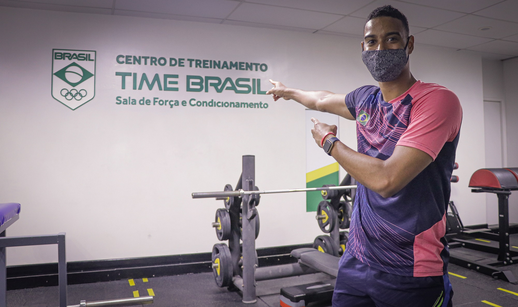 Brazilian Olympic Committee reopens national training centre