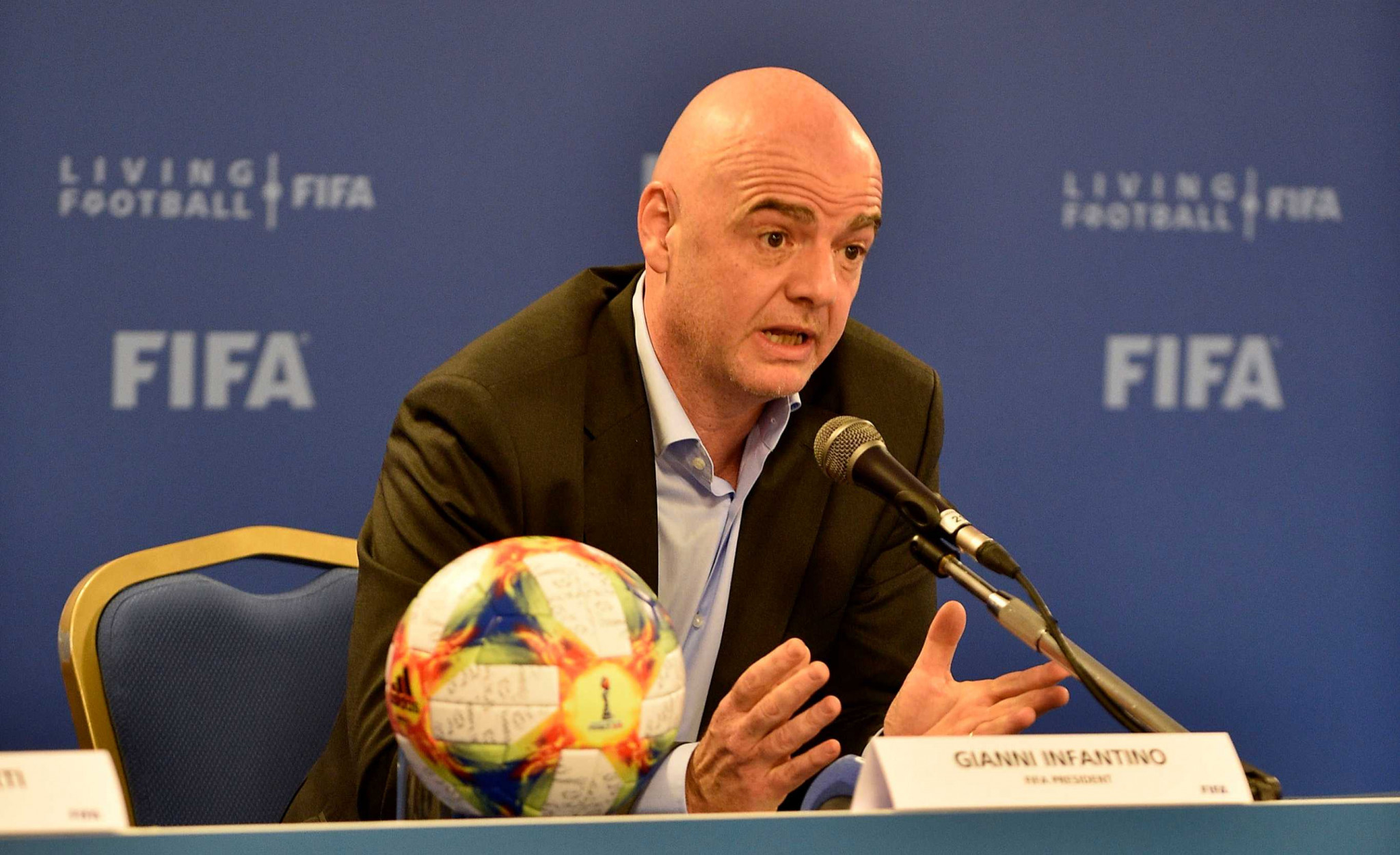FIFA defends President Infantino as criminal proceedings continue against him