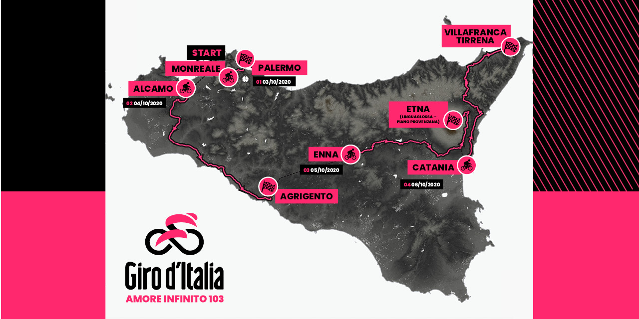 Sicily confirmed as new starting point for 2020 Giro d'Italia