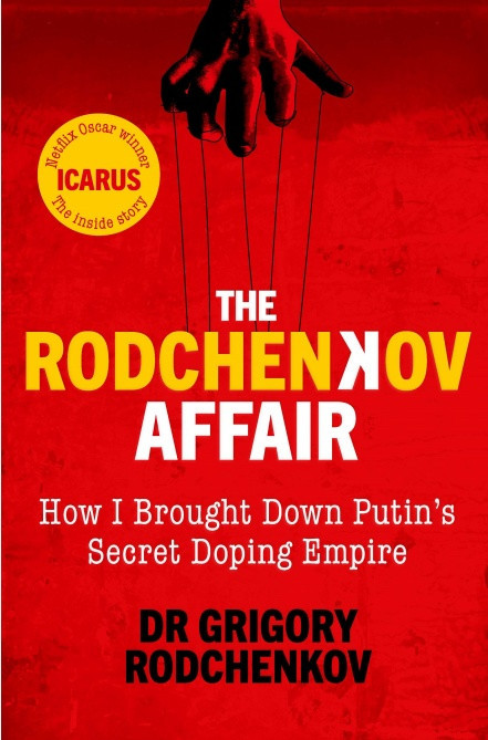 Whistleblower Rodchenkov wins prestigious prize for autobiography detailing Russian doping scandal