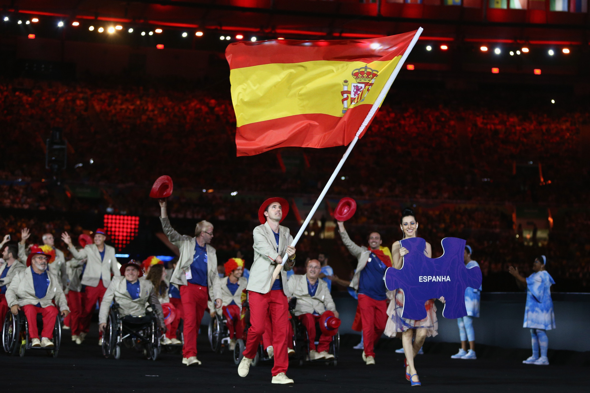 Spain won 31 medals at the Rio 2016 Paralympics ©Getty Images