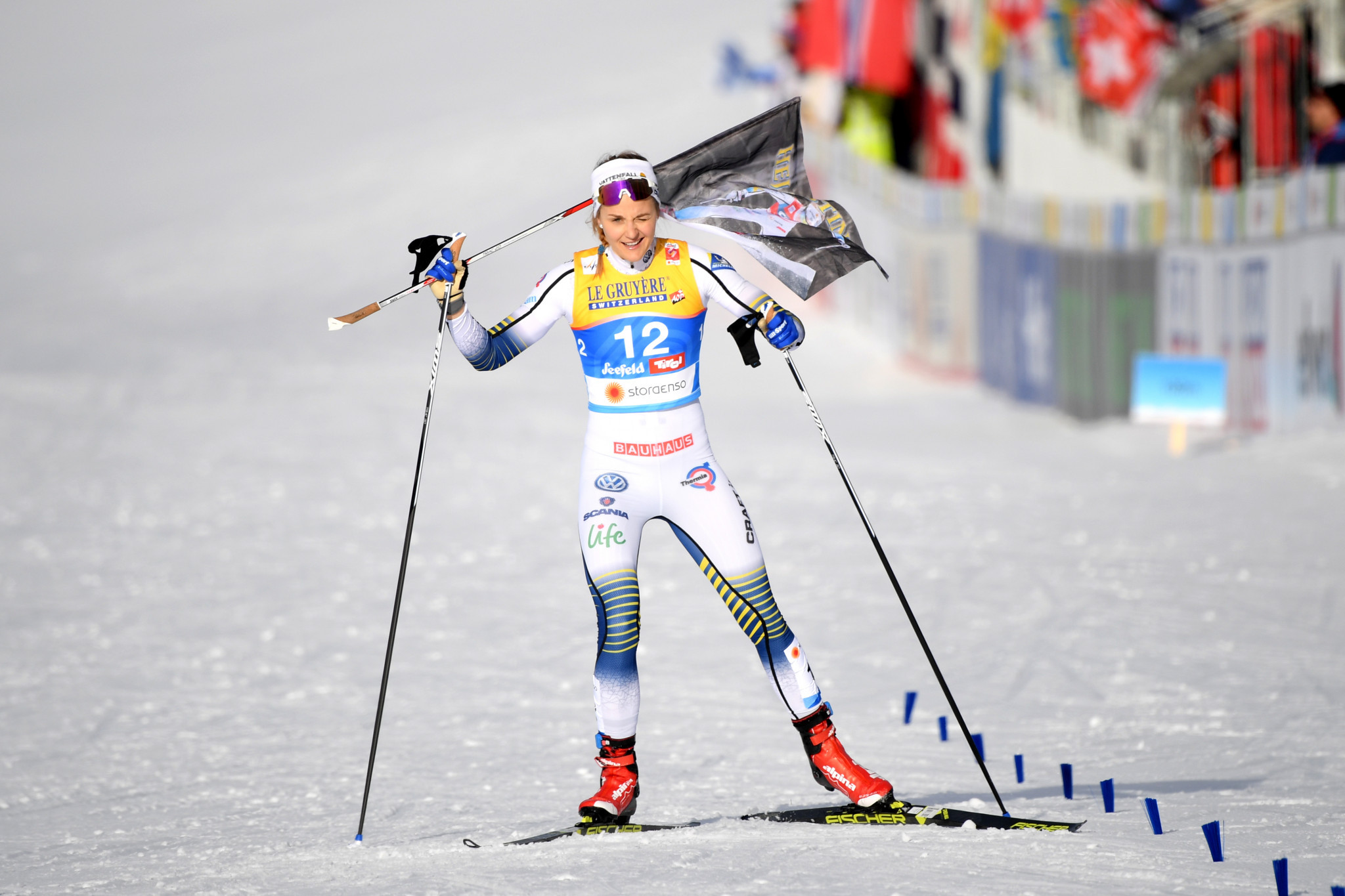 "Olympic cross-country champion Nilsson will ""never regret"" biathlon switch"