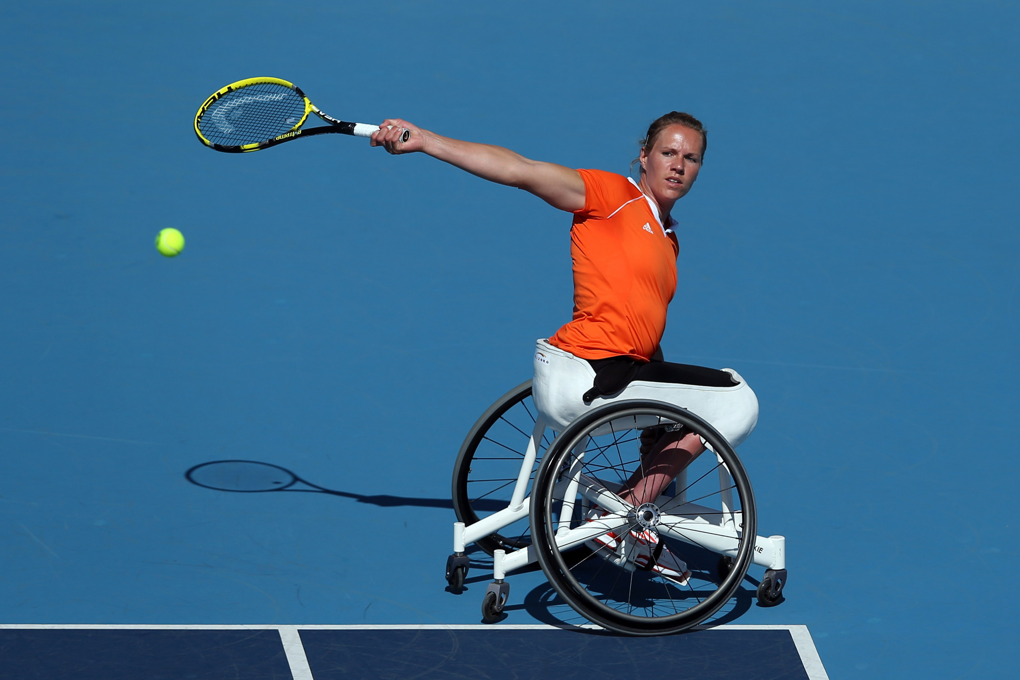 Wheelchair tennis legend Vergeer says cancer treatment complete