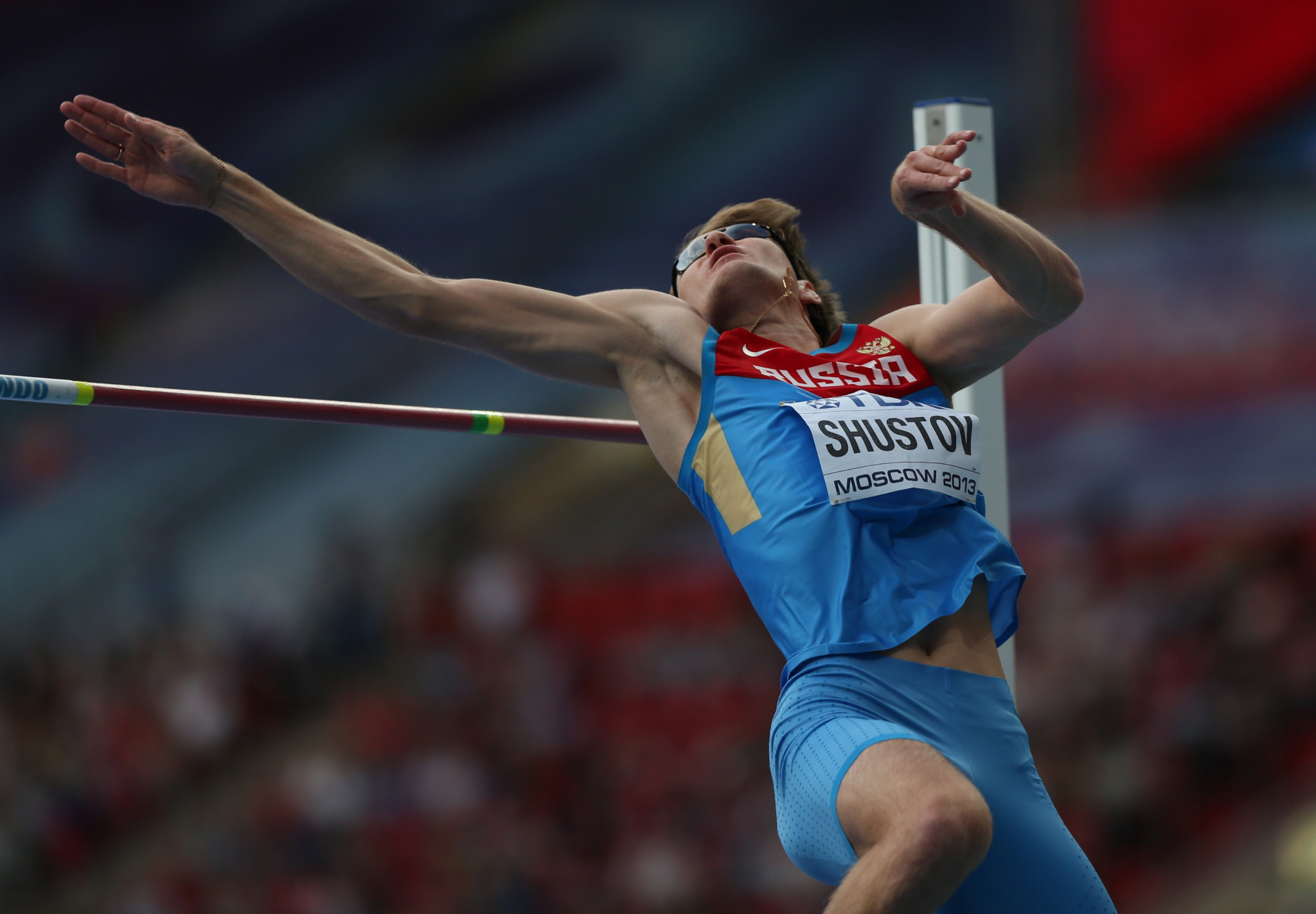 Among the results annulled after the Court of Arbitration for Sport upheld Alexander Shustov's four-year doping ban was his seventh place finish at the 2013 World Championships in Moscow ©Getty Images