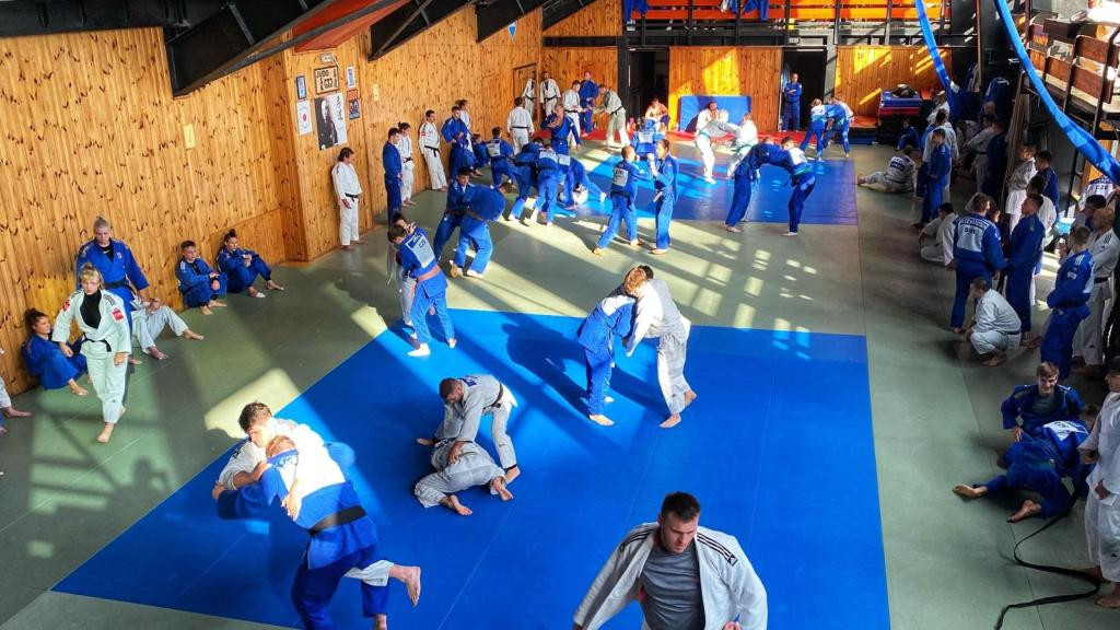 Czech and Slovak judoka hold joint training camp as virus restrictions eased