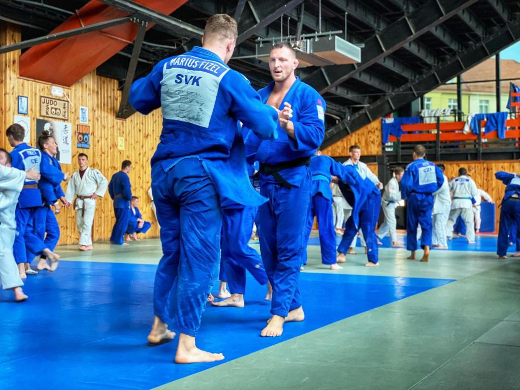 The training camp was held as coronavirus restrictions eased ©EJU